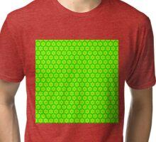 Geometric gree pattern Tri-blend T-Shirt