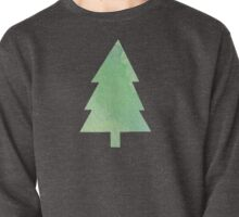 Simple Pine Tree Forest Pattern Pullover