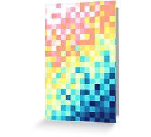 Pixels Greeting Card