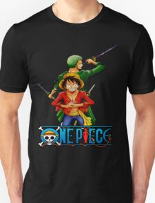 One Piece Luffy and Zoro T-Shirt