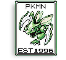 Scyther - OG Pokemon Canvas Print