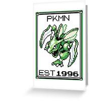 Scyther - OG Pokemon Greeting Card