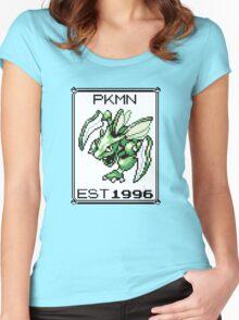 Scyther - OG Pokemon Women's Fitted Scoop T-Shirt