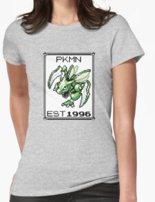 Scyther - OG Pokemon Womens Fitted T-Shirt