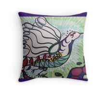 Flight of Color Throw Pillow
