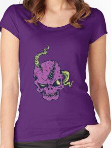 Alien Zombie Women's Fitted Scoop T-Shirt
