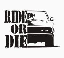 F&F, ride or die Baby Tee