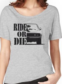 F&F, ride or die Women's Relaxed Fit T-Shirt
