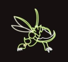 Scyther Neon by darklordKiba
