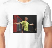 Michael Van Gerwen Darts World Champion Oil Effect Unisex T-Shirt