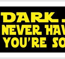 Dark Truth Sticker
