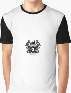 Illadelph Crest Sticker (Blacked Out) Graphic T-Shirt