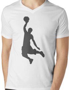 Slam Dunk Mens V-Neck T-Shirt