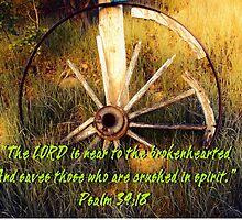 """""""Psalm 34:18""""  by Carter L. Shepard by echoesofheaven"""