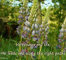 """""""Psalm 23:3"""" by Carter L. Shepard by echoesofheaven"""