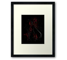 Punch victory Framed Print