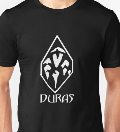 House of Duras Emblem (White) Unisex T-Shirt