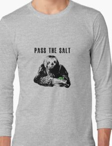 Stoner Sloth - Pass the salt 2 Long Sleeve T-Shirt