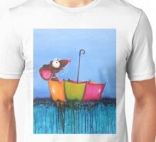 The Floating Umbrella Unisex T-Shirt