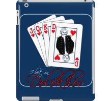 I Bet On Dolokhov Card iPad Case/Skin