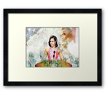 The First Lady Framed Print