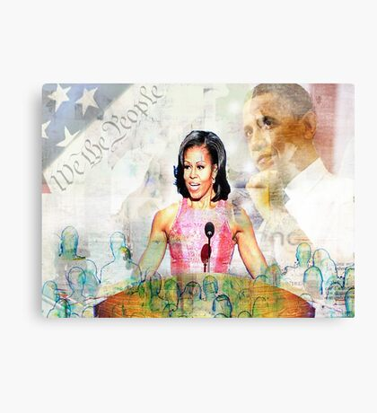 The First Lady Canvas Print