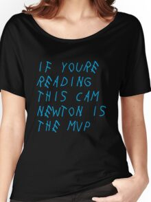 Cam MVP Blue Women's Relaxed Fit T-Shirt