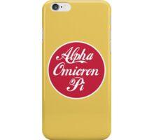 Alpha Omicron Pi iPhone Case/Skin