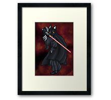Cat Sith (new) Framed Print