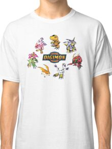 Digimon Adventure All Star Digital Monster - I'M  DIGIDESTINED Classic T-Shirt