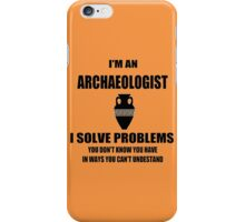 Archaeologist iPhone Case/Skin