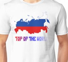 """Russia """"Top of The World"""" Unisex T-Shirt"""