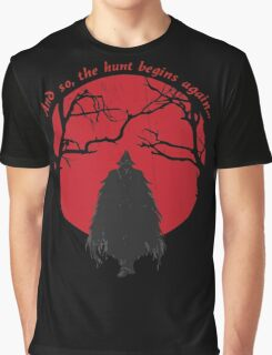 Bloodborne Hunter Graphic T-Shirt