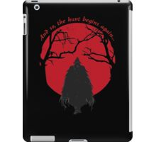 Bloodborne Hunter iPad Case/Skin