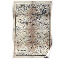 Civil War Maps 1258 Part of northern Georgia no 2 02 Poster