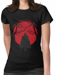 Bloodborne Hunter Womens Fitted T-Shirt
