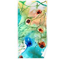 Earthy Abstract - Dance Party - Sharon Cummings Poster