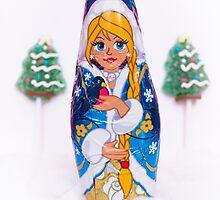 Chocolate Snow Maiden by Bastetamon