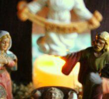 The Nativity - The Reason for the Season! Sticker