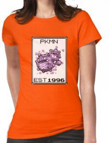 Weezing - OG Pokemon Womens Fitted T-Shirt