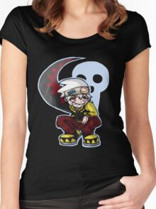 Soul Eater Evans Women's Fitted Scoop T-Shirt
