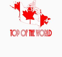 "Canada ""Top of the World"" Unisex T-Shirt"