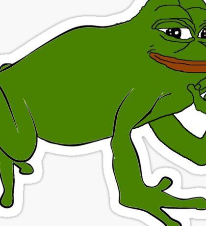Pepe Frog Sticker