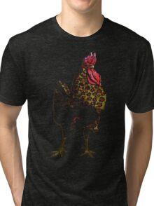 Exotic Chicken Tri-blend T-Shirt