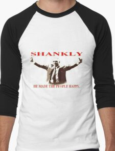 Shankly He made the people happy Men's Baseball ¾ T-Shirt