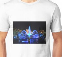 J.C. Nichols Fountain in Royal Blue Unisex T-Shirt
