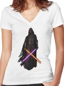 Star Wars - Revan Women's Fitted V-Neck T-Shirt