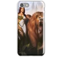 Elf Druid Princess iPhone Case/Skin