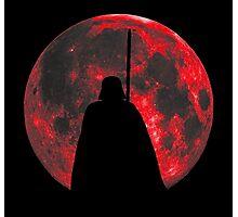Star Wars: Darth Vader Moon Photographic Print