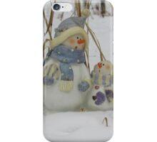 Snowman Family iPhone Case/Skin